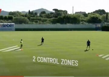 Barcelona Directional Control Drill