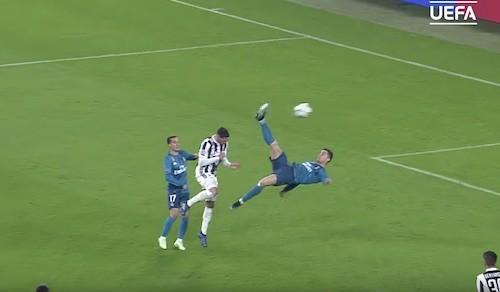 Cristiano Ronaldo Bicycle Kick