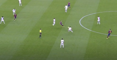 Iniesta Shielding Skills