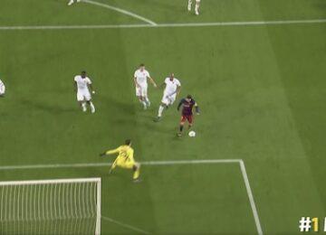Messi Team Goal