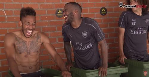 Arsenal Ice Bath
