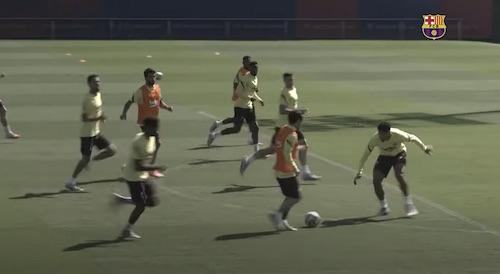 Barca Practice Field