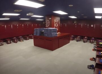 Barcelona Locker Room