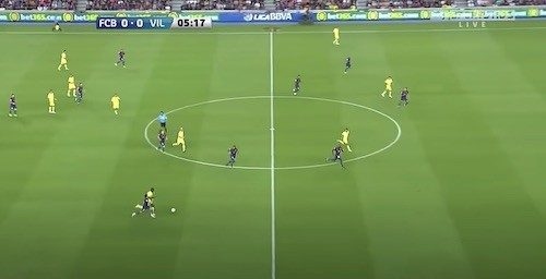 Barcelona Pressing Defense