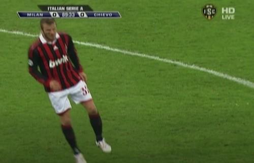 Beckham Achilles Injury