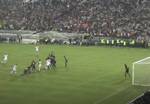 Beckham Free Kick Barcelona