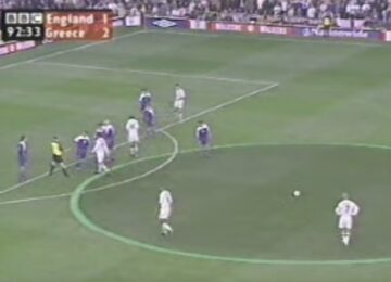 Beckham Free Kick Greece