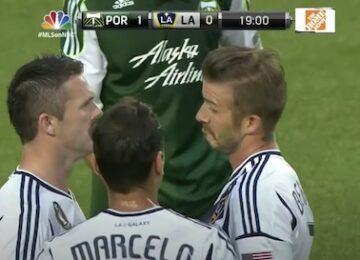 Beckham Timbers Goal