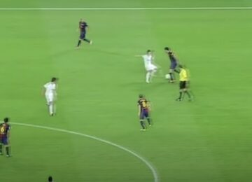 Busquets signature move