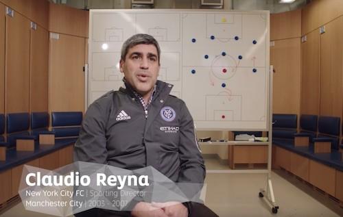 Claudio Reyna Training
