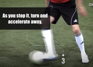 Coerver Change of Direction in Soccer