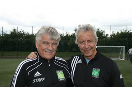 Charlie Cooke and Alfred Galustian of Coerver Coaching