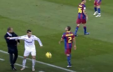 Cristiano Ronaldo Pushes Guardiola