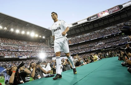 Cristiano Ronaldo Presentation at Real Madrid