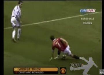 Cristiano Ronaldo Stumbles