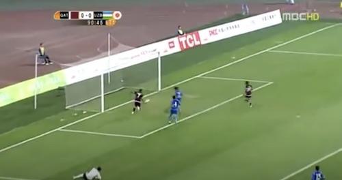 Fahad Open Goal Miss