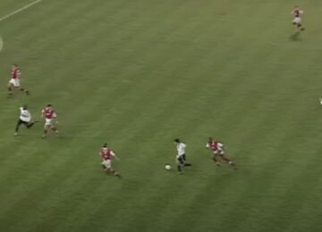 Giggs Dribbling Run Arsenal