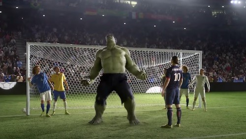 Goalkeeper Hulk Routine