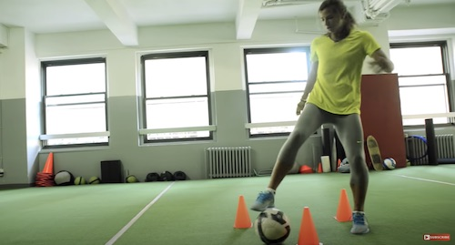 Tobin Heath Dribbling Skills