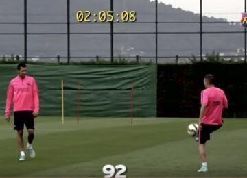 Iniesta Juggling