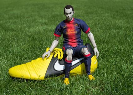 Iniesta Puppet
