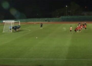 Diego Maradona Butts Up Game