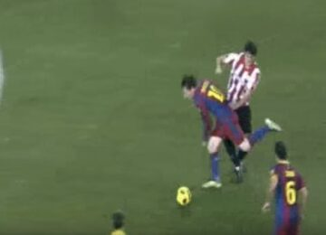 Messi Does Not Fall