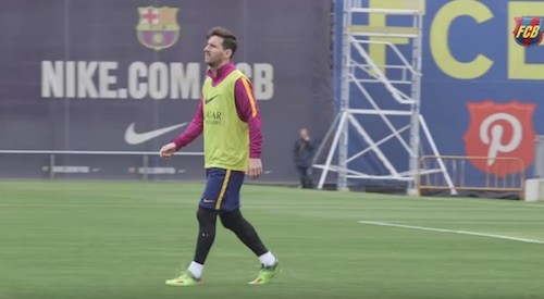 Messi Wants to improve