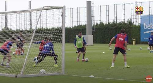 Messi Insane Training Tricks