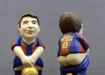 Messi Pooping