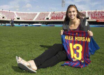 Barcelona Alex Morgan