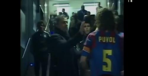 Mourinho Slaps Puyol