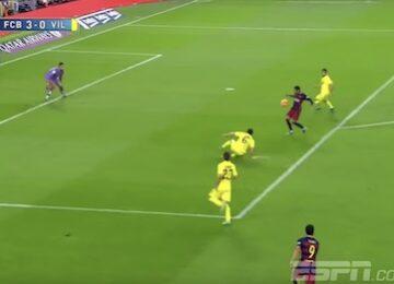 Neymar Juggle Goal