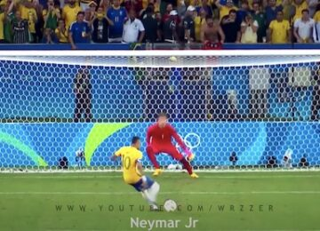Neymar Penalty Kick