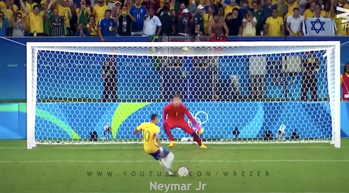 Neymar Penalty Kick