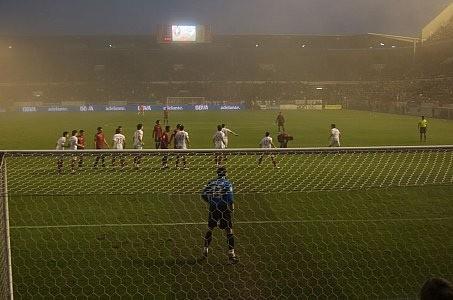 Behind Osasuna's Goal