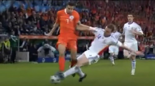 Perfect Slide Tackle