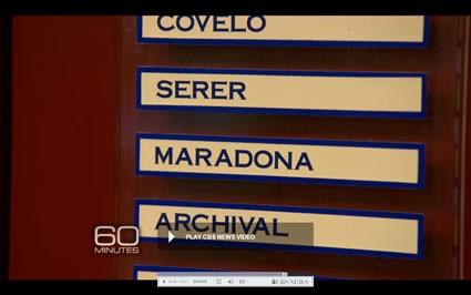 Barcelona Names on Lockers