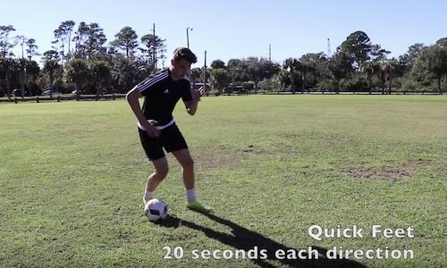 Quick Feet Drill