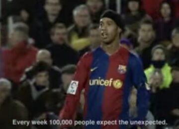 Ronaldinho Nike Soccer