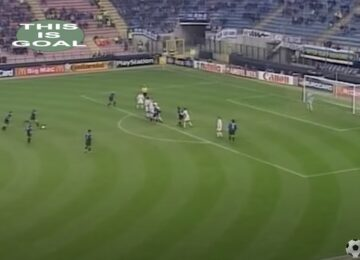 Ronaldo Fake Shot on Free Kick