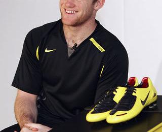 Wayne Rooney's New Boots