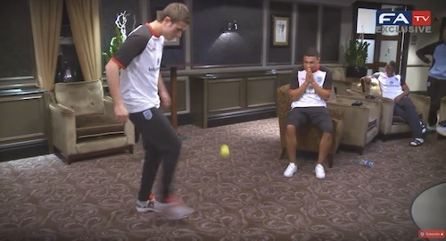 Juggling a Tennis Ball