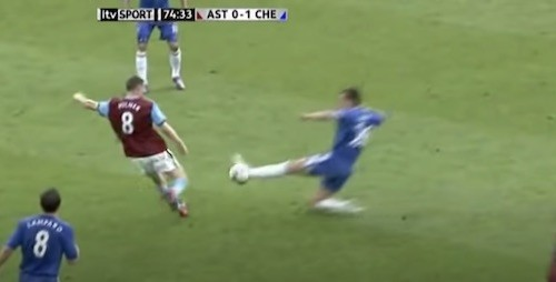 Terry Milner Tackle