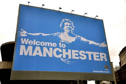 Welcome to Manchester: Tevez