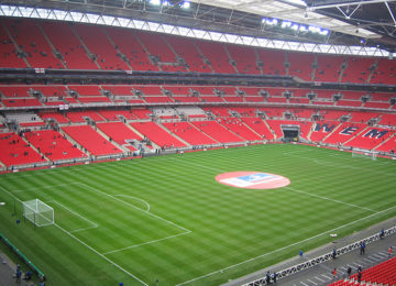 The New Wembley Soccer Stadium