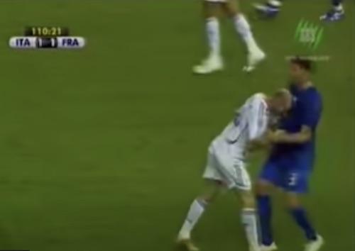 Zidane head butt