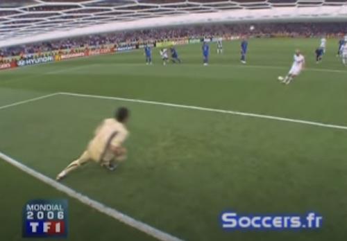 Zidane Penalty Kick
