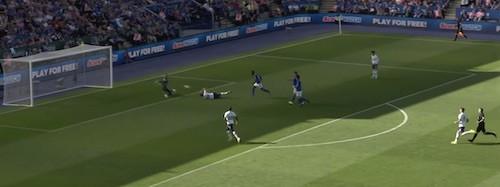 Kane Falling Goal