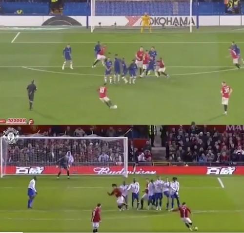 Rashford Versus Ronaldo